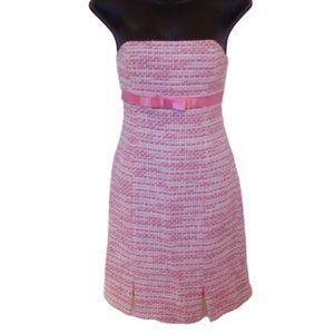 Aritzia Dresses - Aritzia-Talula Babaton Strapless Boucle Dress- Sz2